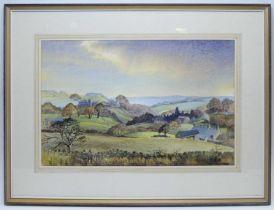 Alan B Charlton - watercolour