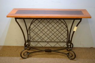 20th C console table.