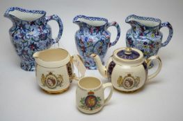 Assorted Ringtons Maling ware.