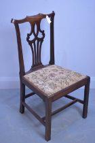 Georgian dining chair.