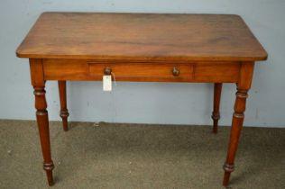 19th C mahogany side table.