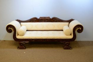 A Regency style sofa.