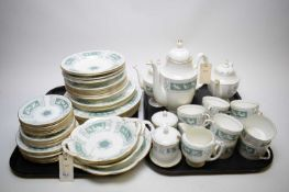 A Coalport Revelry-Adam Green pattern coffee and dinner service