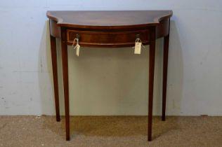 N.H. Chapmans Siesta mahogany side table.