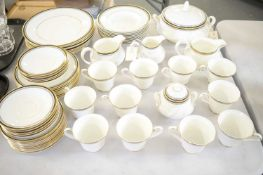 Royal Doulton Pavanne tea and dinner service.