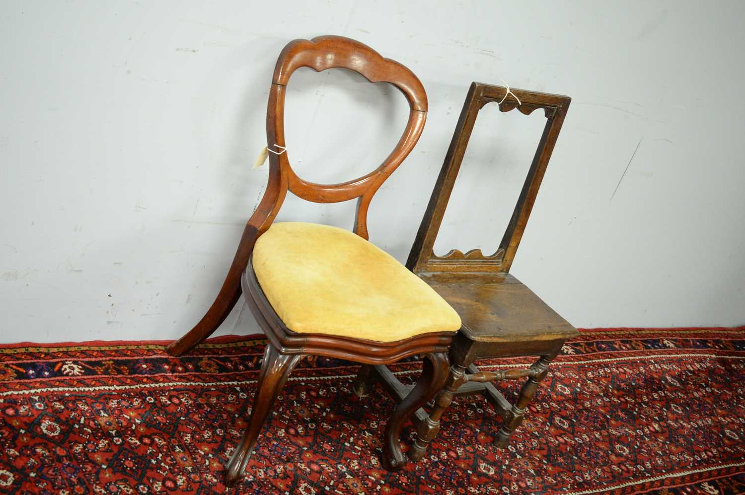 Two occasional chairs. - Image 3 of 3