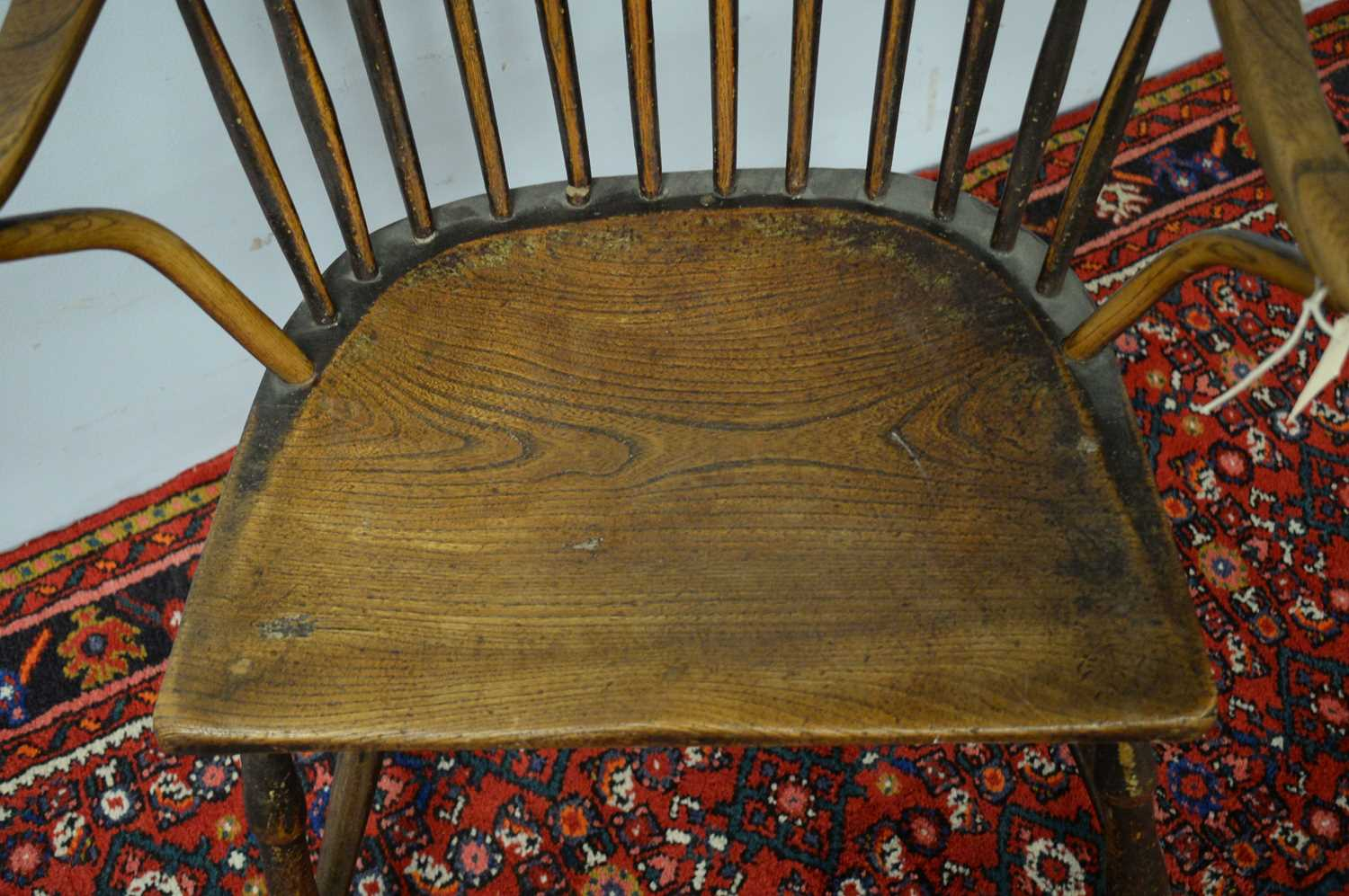 19th C Windsor chair. - Image 3 of 5