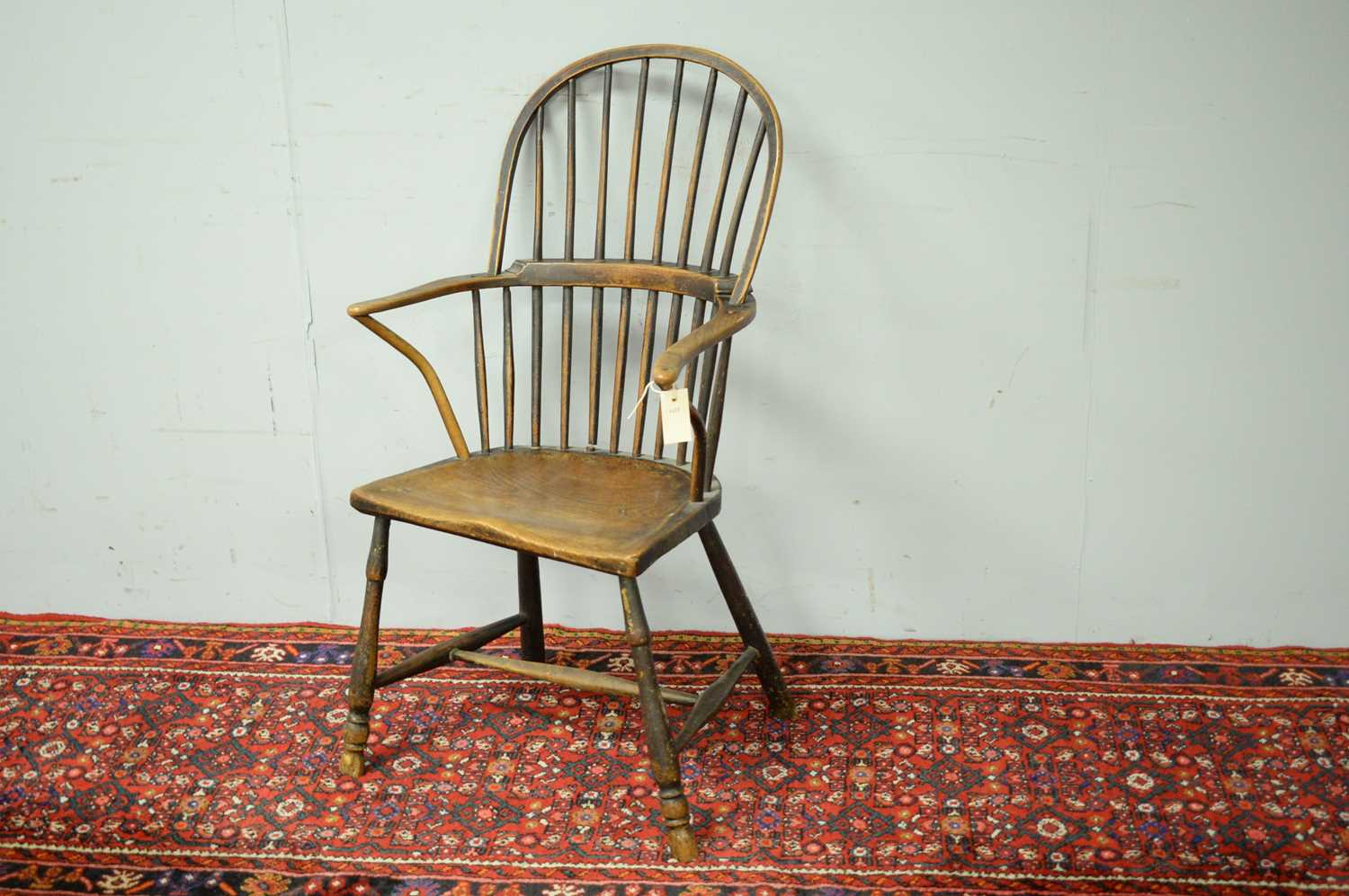 19th C Windsor chair. - Image 2 of 5