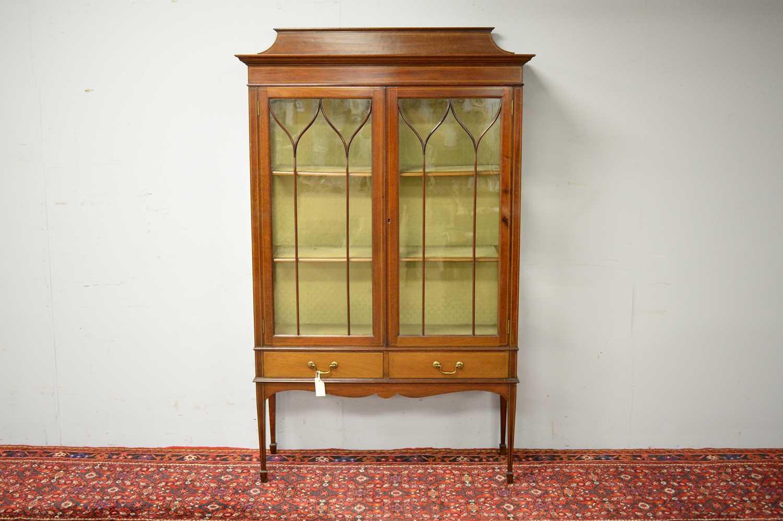 Edwardian display cabinet. - Image 2 of 5