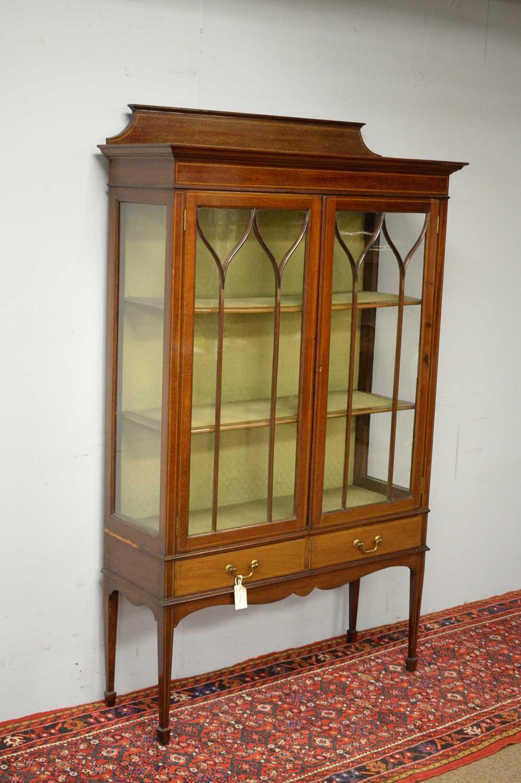 Edwardian display cabinet. - Image 3 of 5
