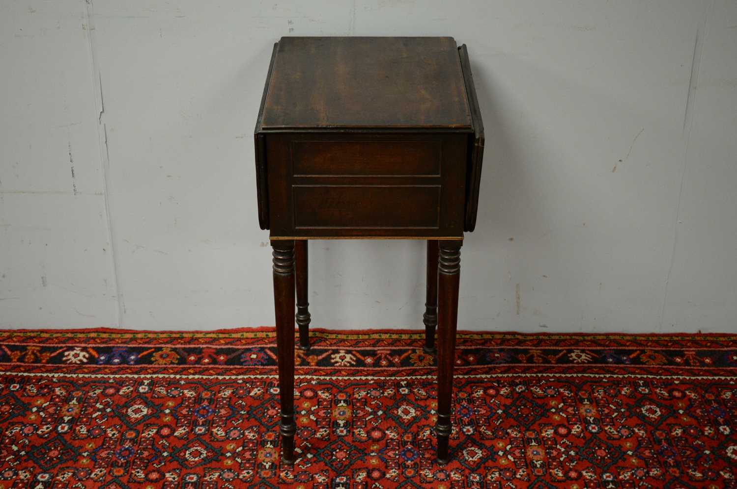 Victorian mahogany side table. - Image 2 of 5