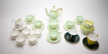 Paragon and other tea china.