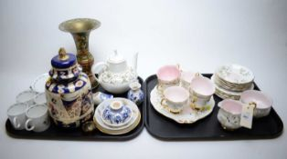 Selection of tea ware, various makers.