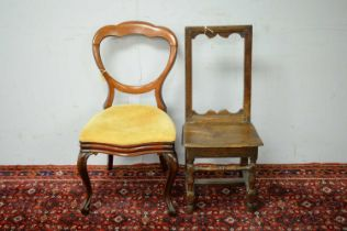 Two occasional chairs.
