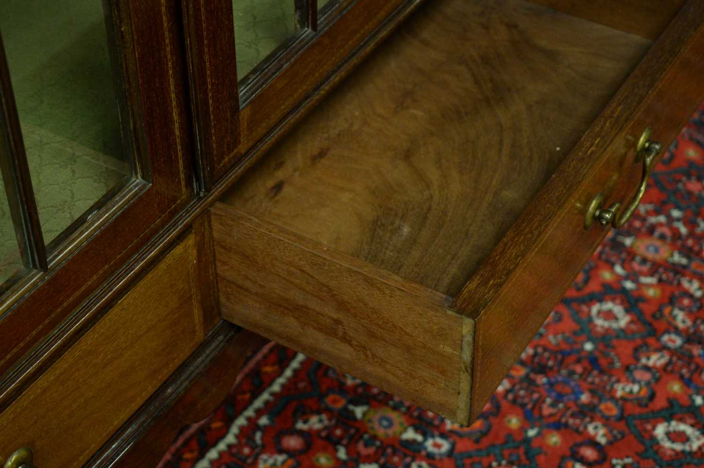 Edwardian display cabinet. - Image 5 of 5
