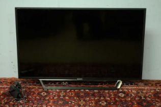 Sony Bravia 40in. flatscreen TV.