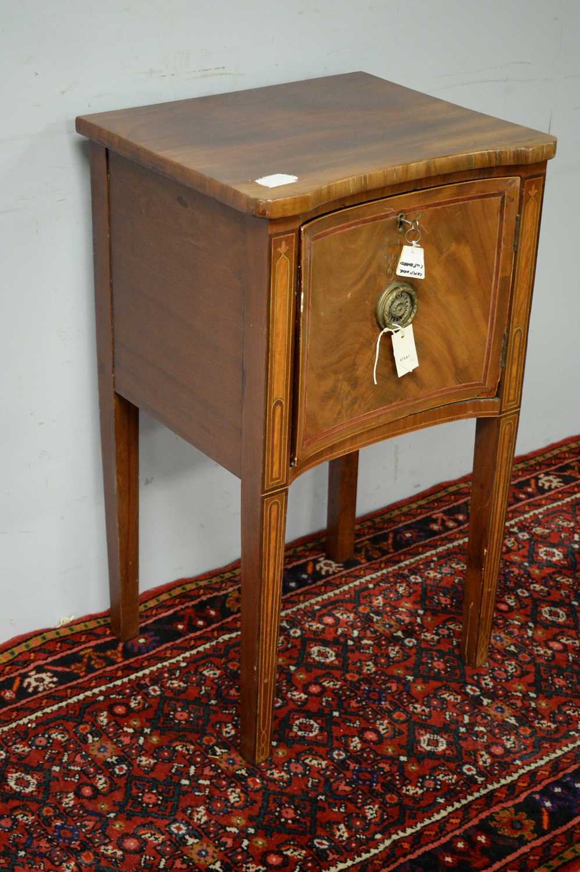 Victorian mahogany pot cupboard. - Image 3 of 5