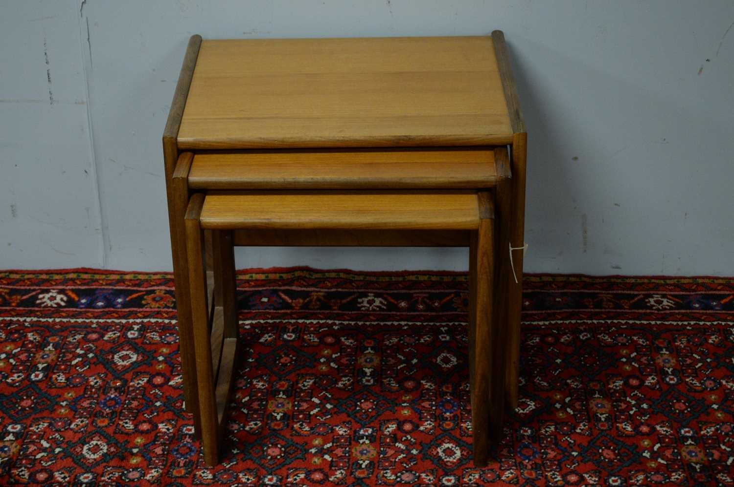 Nest of three G-Plan style tables. - Image 2 of 3
