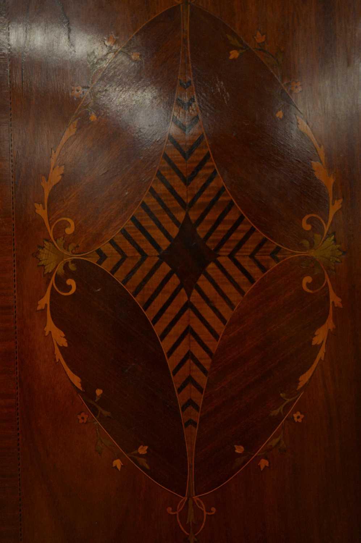Edwardian three door wardrobe - Image 4 of 7