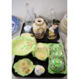 Decorative ceramics, various makers.
