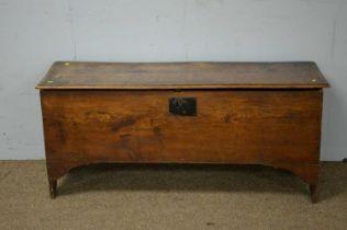 19th Century oak coffer