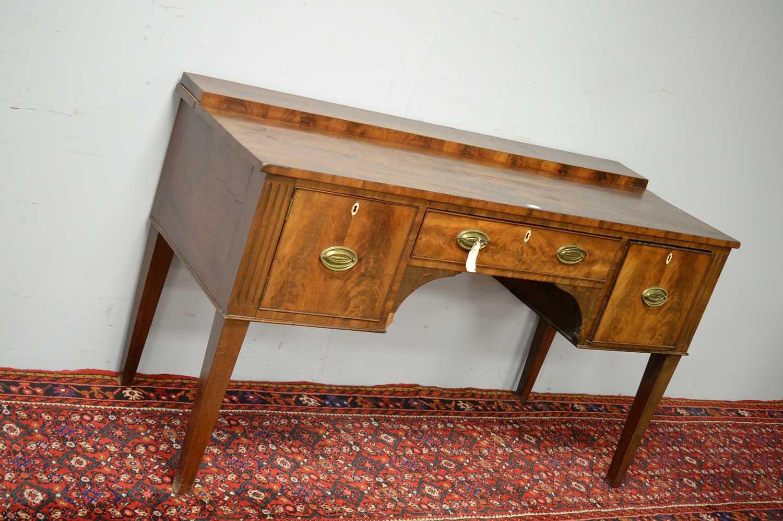 19th C mahogany sideboard. - Image 3 of 5