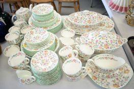 Minton Haddon Hall pattern tea and dinner service