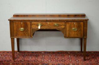19th C mahogany sideboard.