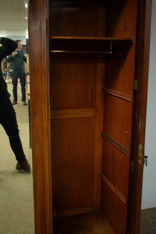 Edwardian three door wardrobe - Image 6 of 7