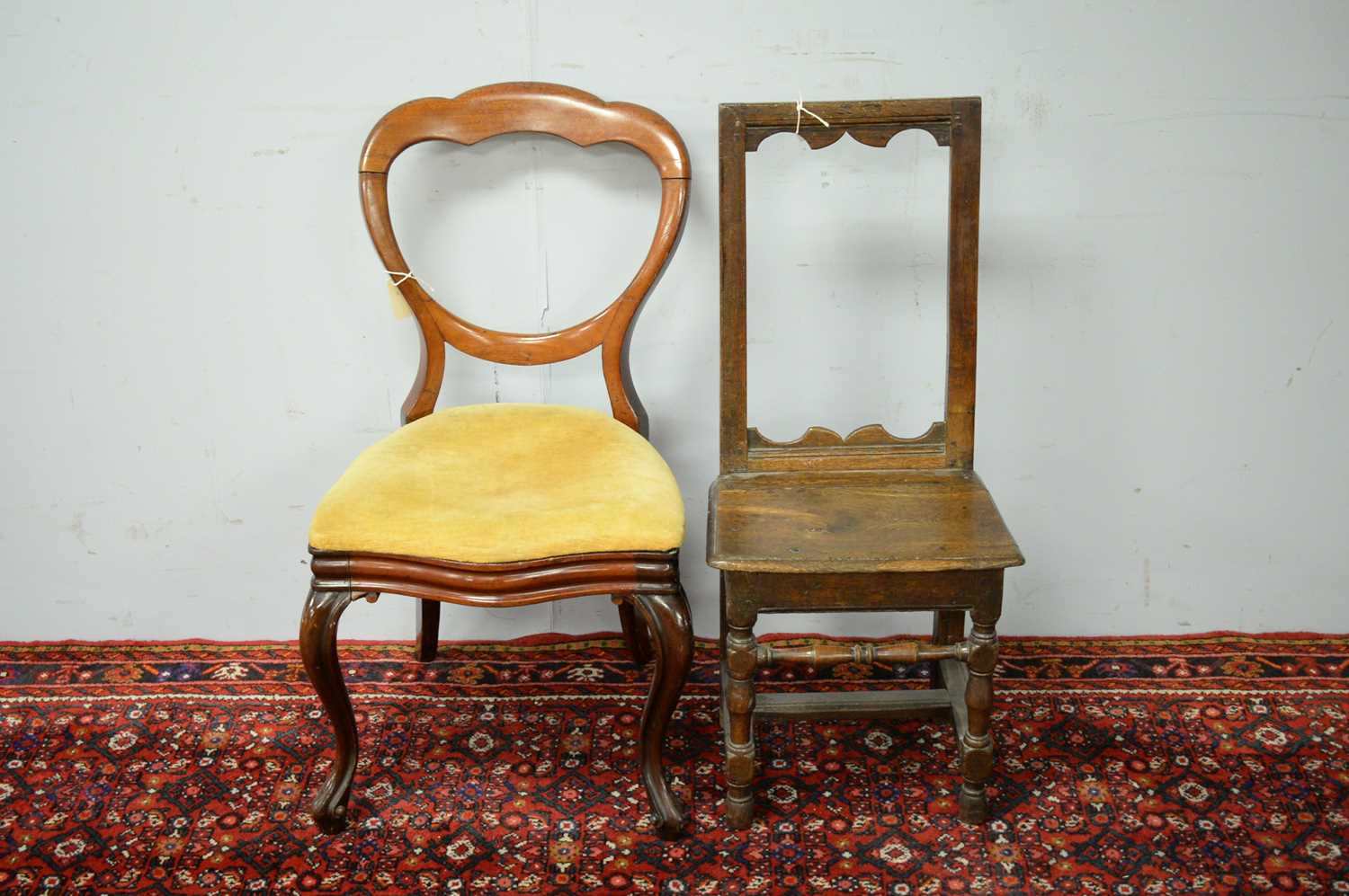 Two occasional chairs. - Image 2 of 3