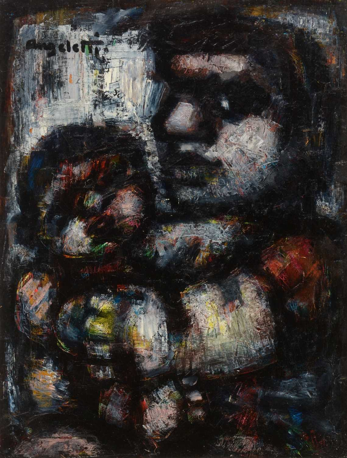 Alfred Angeletti - oil - Image 2 of 6