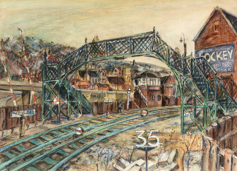 Richard Hobson - watercolour. - Image 3 of 4
