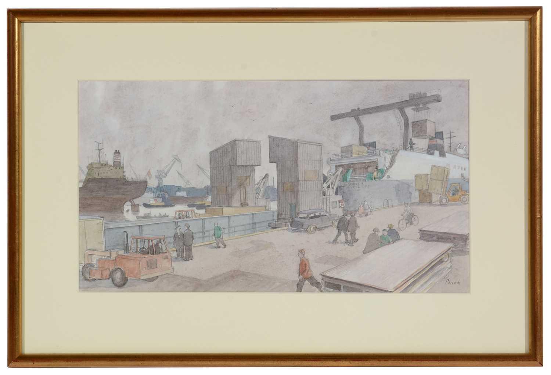 Norman Standfield Cornish - watercolour