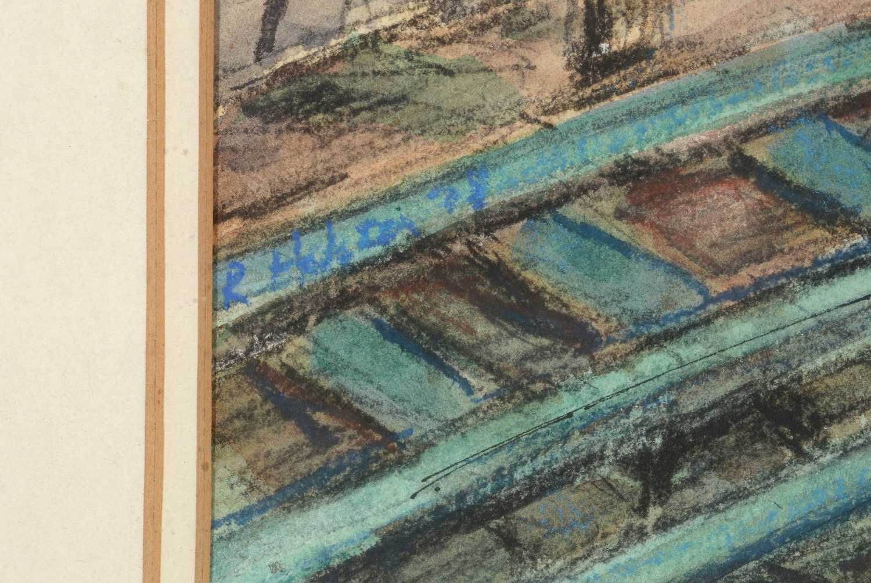 Richard Hobson - watercolour. - Image 4 of 4