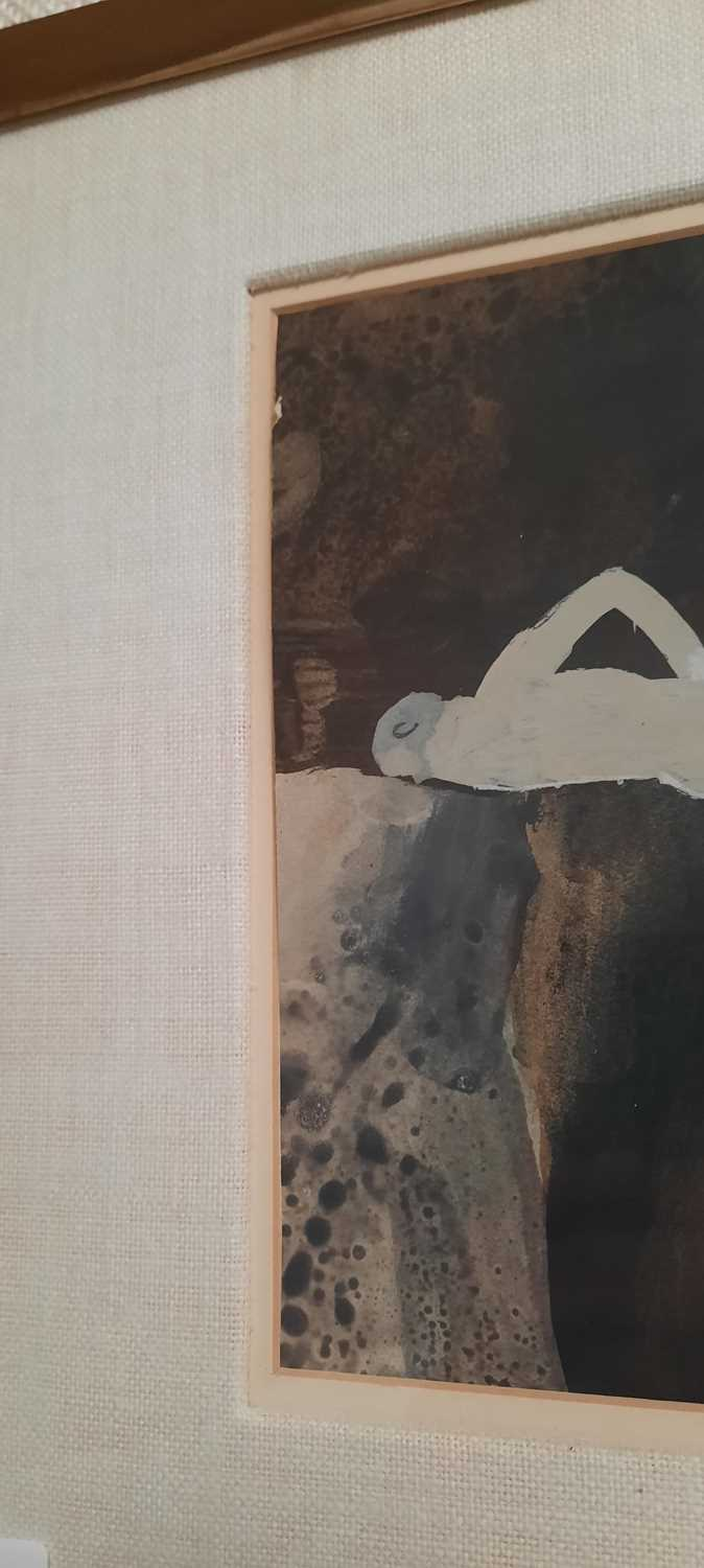 Keith Vaughan - gouache and crayon - Image 6 of 6