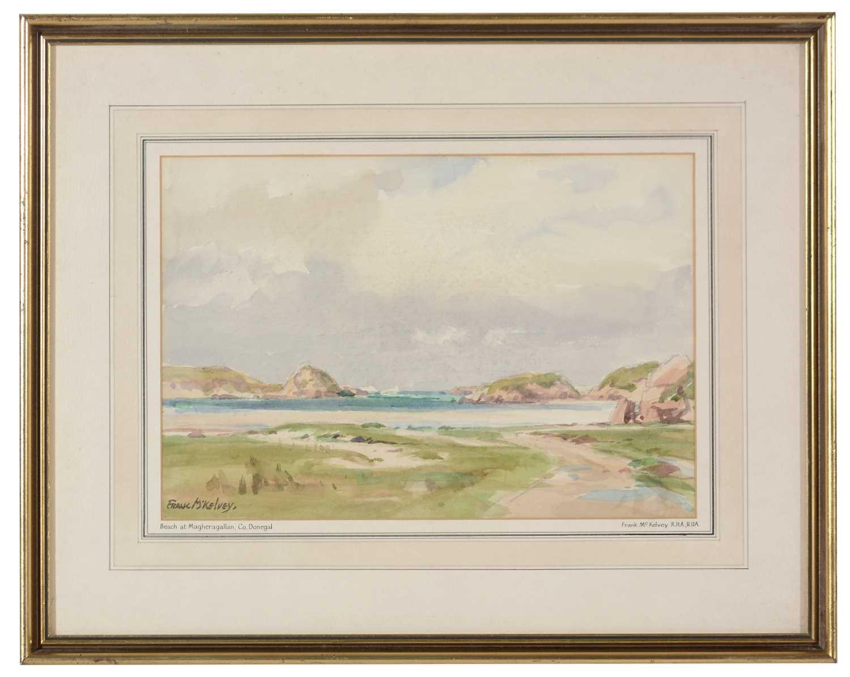 Frank McKelvey - watercolour.
