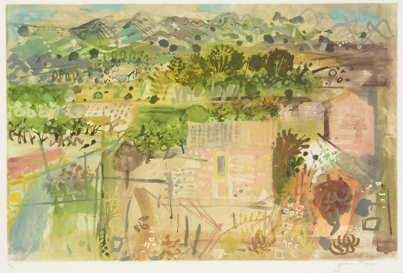 John Piper - etching and aquatint - Image 2 of 5
