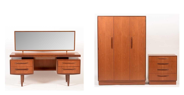 G-Plan: a 'Fresco' three-piece bedroom suite.