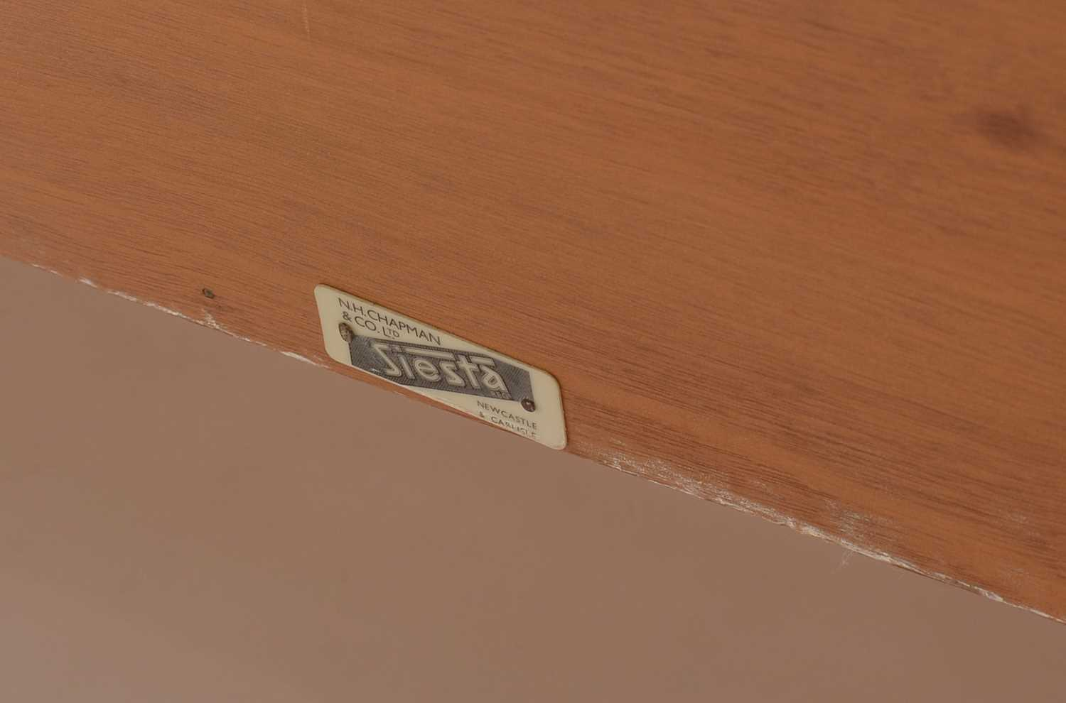 A 1960's teak 'Siesta' chest of three drawers. - Image 2 of 2