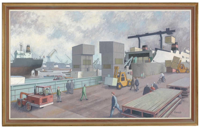Norman Cornish - oil