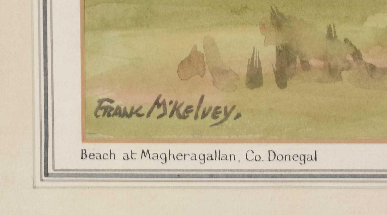Frank McKelvey - watercolour. - Image 2 of 4