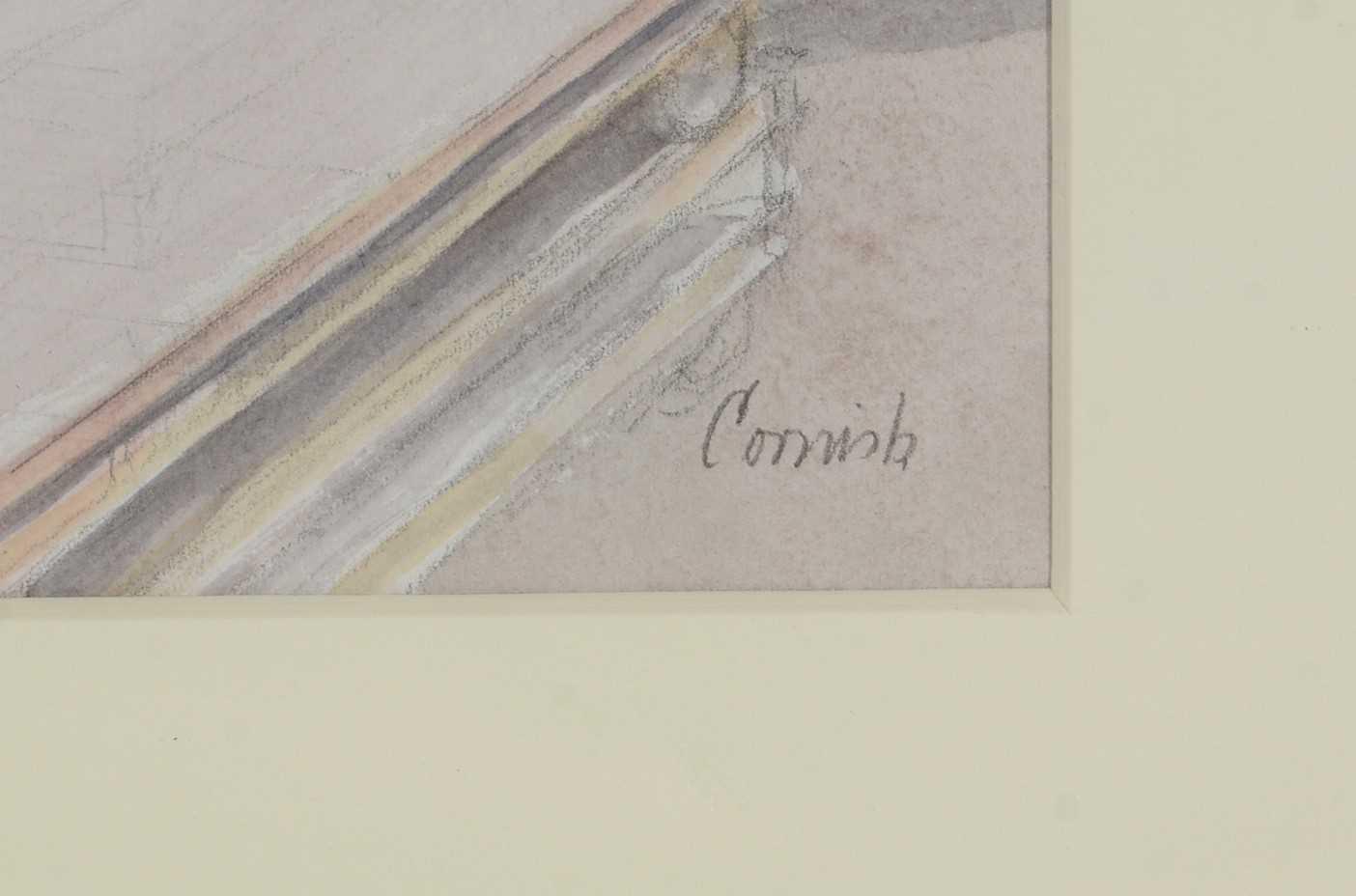Norman Standfield Cornish - watercolour - Image 3 of 3