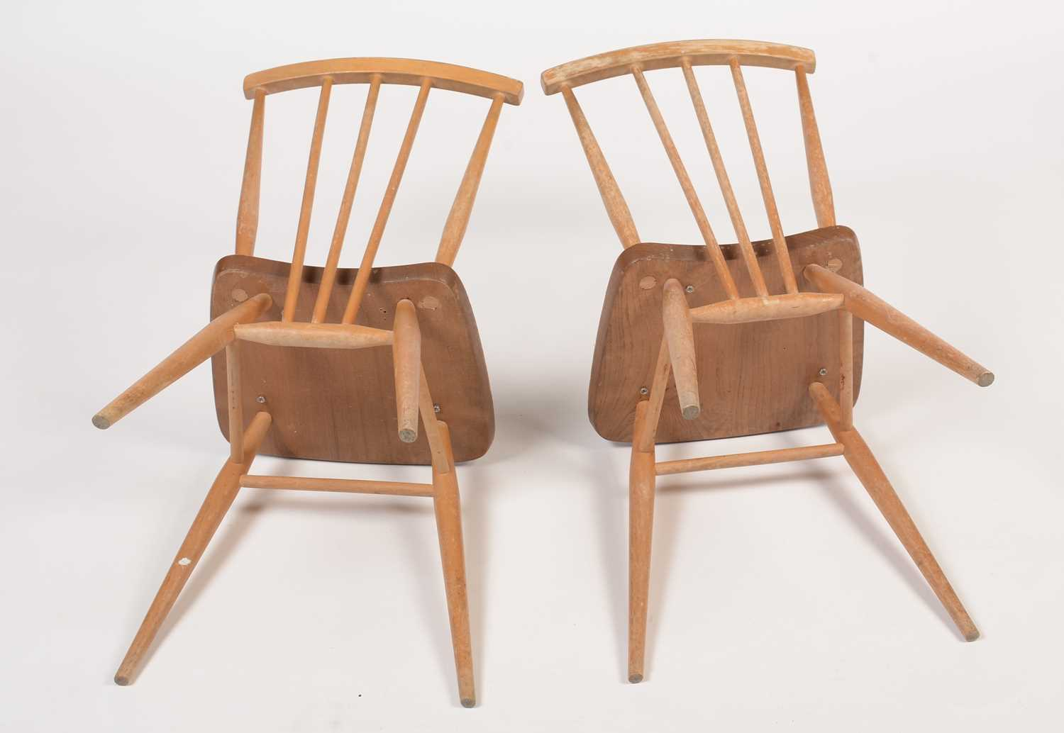 Ercol: four all-purpose Windsor chairs, No 391 - Image 2 of 5