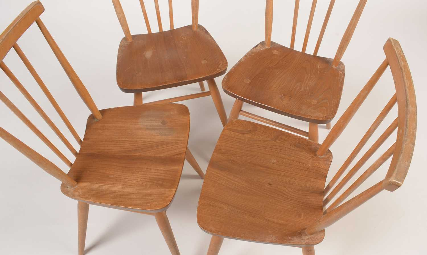 Ercol: four all-purpose Windsor chairs, No 391 - Image 4 of 5