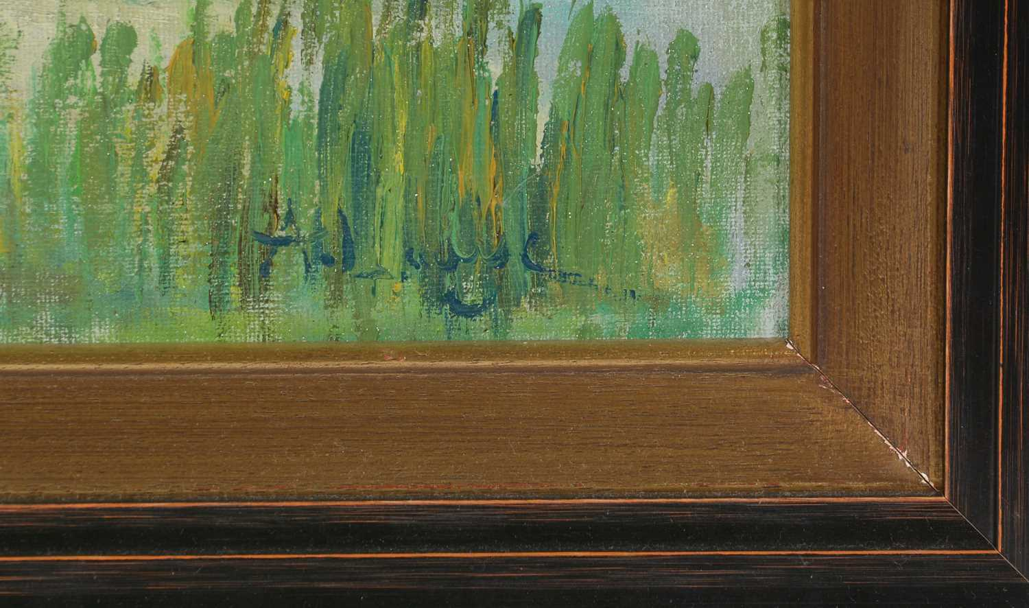 Manner of Achille Lauge - oil on canvas - Image 2 of 3