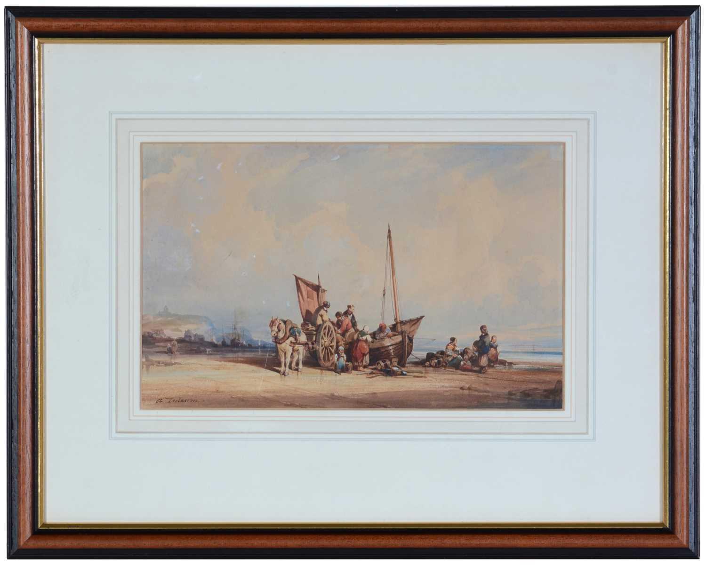 Auguste Delacroix - watercolour