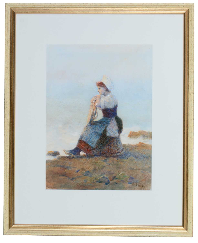 Hector Caffieri - watercolour.