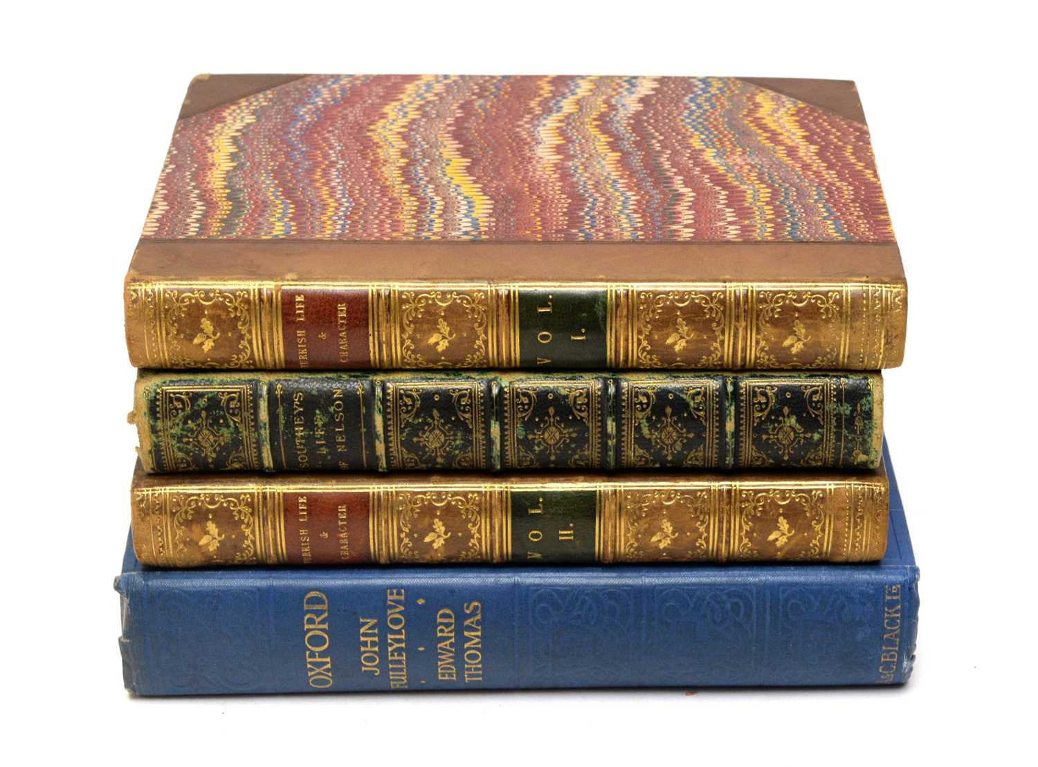 Southey (Robert), The Life of Nelson, and two other books