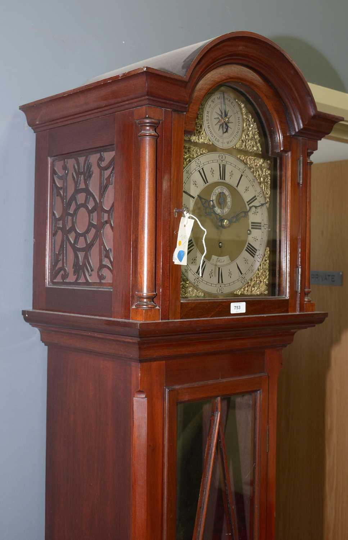 Reid - 20th Century musical longcase clock - Image 9 of 11