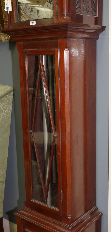 Reid - 20th Century musical longcase clock - Image 6 of 11